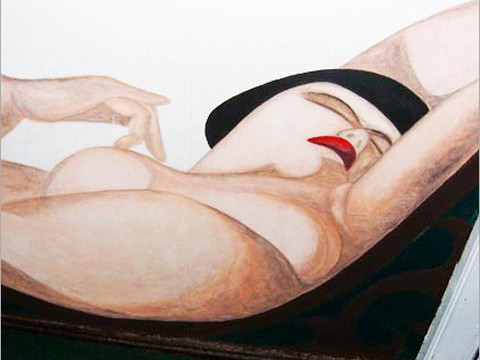 Wandgestaltung - Lempicka
